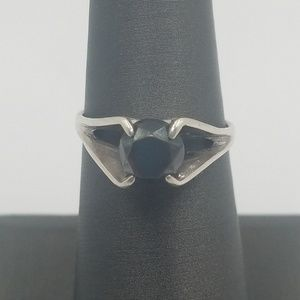 Jewelry - Sterling Silver Quartz Solitaire Ring